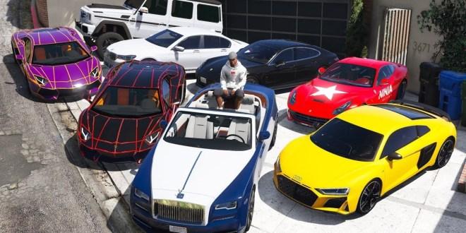 7 Mobil Tercepat Di GTA 5 Online 2020