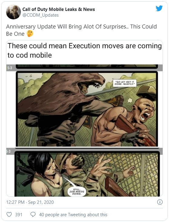 Execution Moves Call Of Duty Mobile
